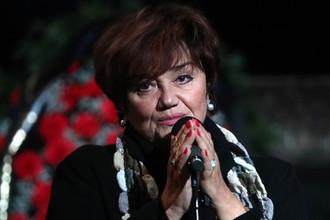 Оперная певица Тамара Синявская, 2017 год