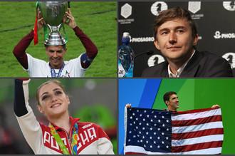 Лучшие спортсмены года по версии читателей и жюри отдела спорта «Газеты.Ru».