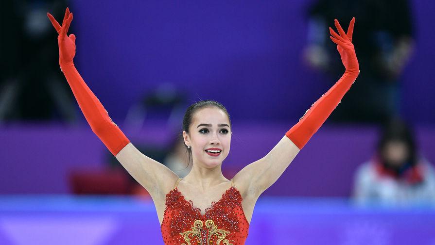 Российская фигуристка Алина Загитова взяла золото в соревновании одиночниц на Олимпиаде-2018