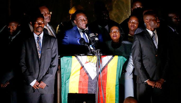 Эммерсон Мнангагва, ставший президентом Зимбабве после Роберта Мугабе
