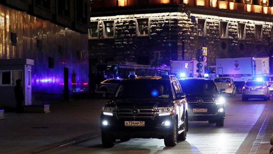 Ситуация в центре Москвы после перестрелки у здания ФСБ России на Лубянке, 19 декабря 2019 года