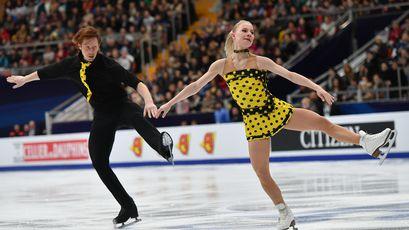 Россияне заняли весь пьедестал чемпионата Европы по фигурному катанию