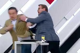 Украинец свалил американца: скандал в эфире «России 1»