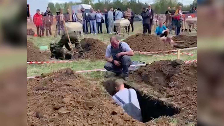 1 всероссийский турнир по скоростной копке могил