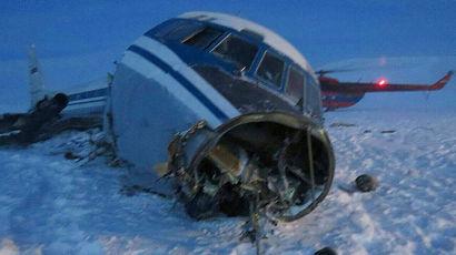 К крушению Ил-18 возле Тикси привели просчеты экипажа и руководителя полетов