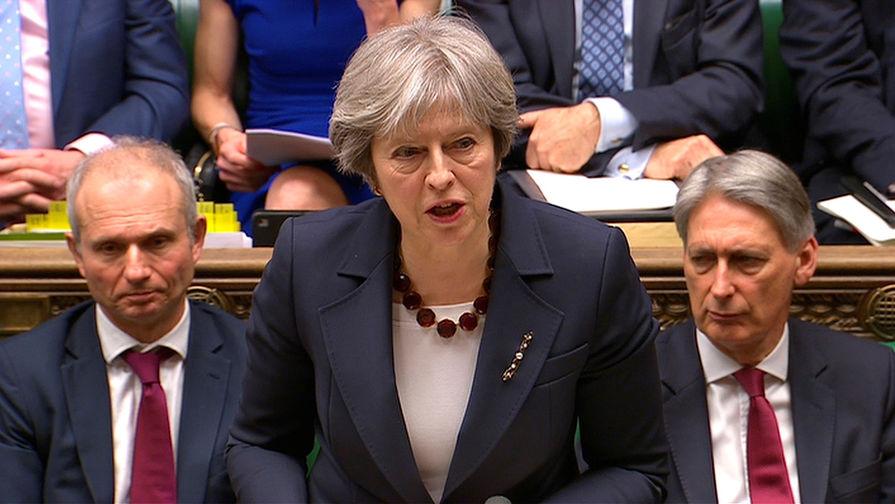 Мэй: Британия не обсуждает возможность остаться в едином рынке и таможенном союзе ЕС