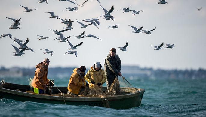 Ловля рыбы в Черном море