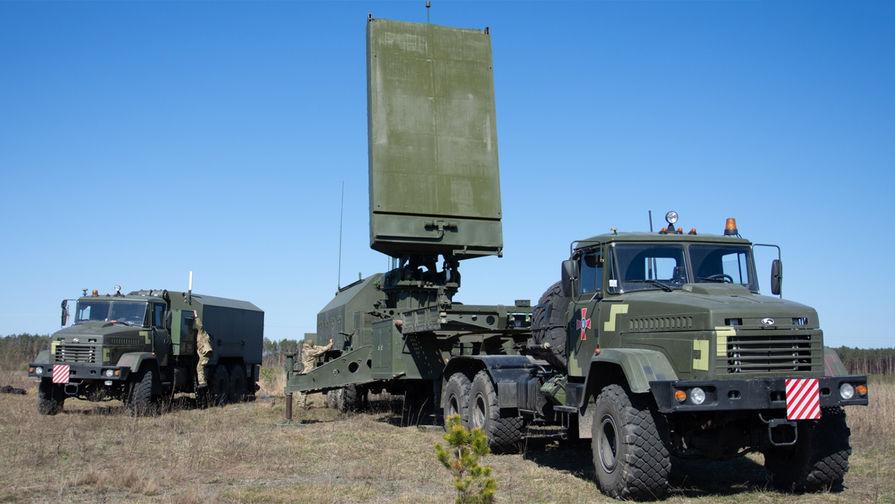 Контрбатарейный радар 1Л220УК