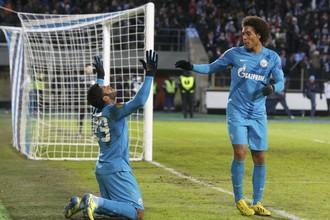 Нападающий «Зенита» Халк забил победный гол «Ливерпулю»
