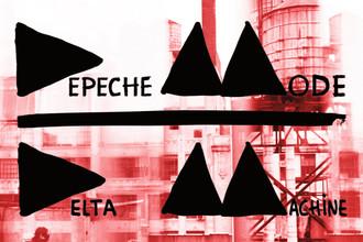 Фрагмент обложки альбома группы Depeche Mode «Delta Machine»
