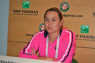 Надежда Петрова оступилась в первом круге «Роллан Гарроса»