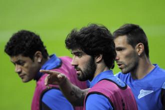 «Зенит» готовится сыграть с «Атлетико» в матче группового этапа Лиги чемпионов