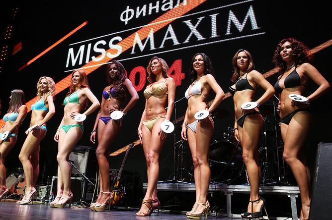 Участницы финала конкурса Miss MAXIM 2014