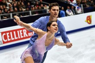 Российская спортивная пара Наталья Забияко и Александр Энберт