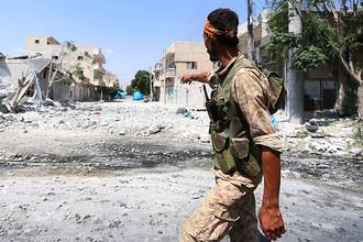 «Мы поднимем победный флаг над цитаделью Алеппо»