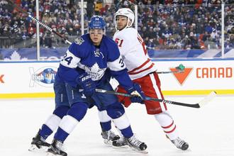 Нападающий «Торонто» Остон Мэттьюз стал первой звездой игрового дня в НХЛ