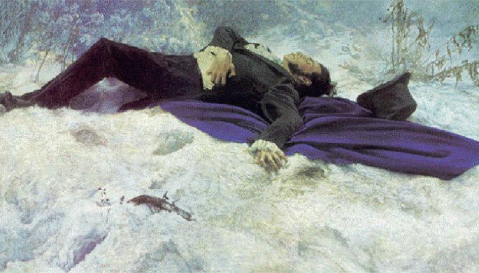 От пули Пушкина лечили клизмой