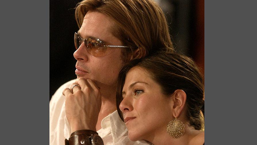 Брэд Питт и Дженнифер Энистон, 2003 год