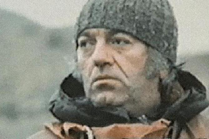 Баадур Цуладзе в фильме «Покорители гор» (1977)