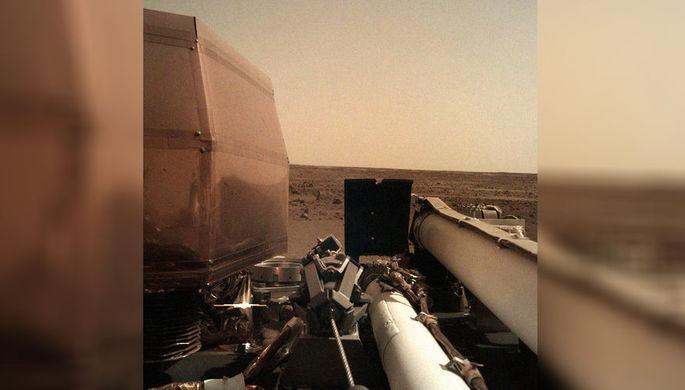 InSight впервые пробурил поверхность Марса