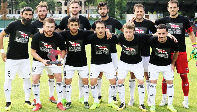 Довыпендривались: футболисты из Грузии остались без денег