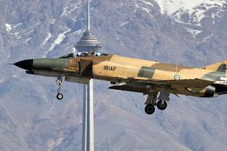 Истребитель-бомбардировщик, истребитель-перехватчик, самолёт наземной поддержки McDonnell Douglas F-4 Phantom «Фантом II» (Турция, Иран)