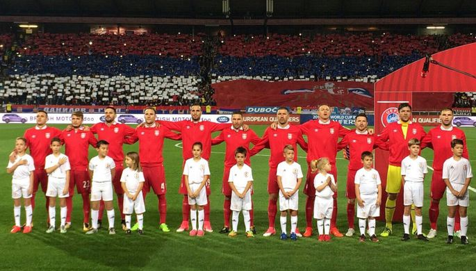 Сборная Сербии отобралась на чемпионат мира — 2018