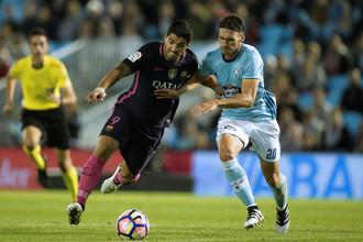 «Барселона» уступила «Сельте» в чемпионате Испании по футболу