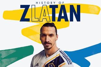 Футболист Златан Ибрагимович в «Лос-Анджелес Гэлакси»