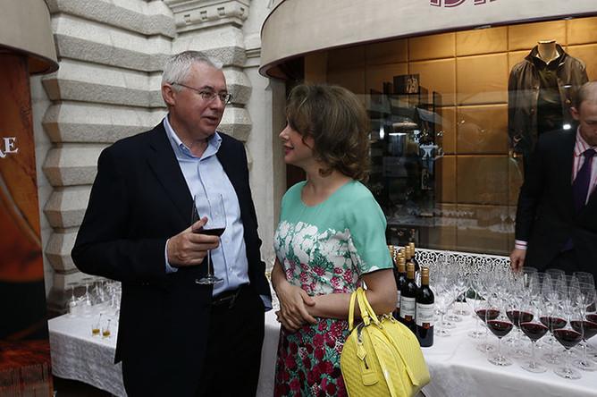 Божена Рынска с Игорем Малашенко, 2013 год