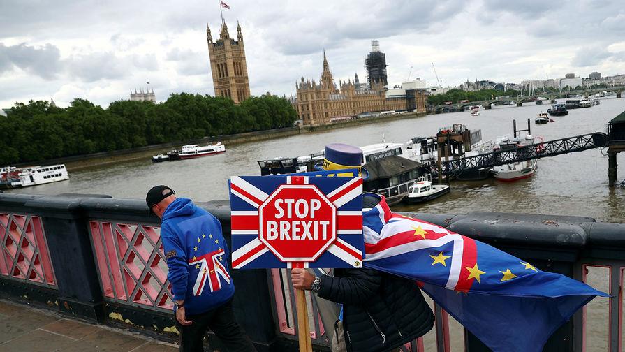Правительство Британии представило парламенту новый закон о Brexit