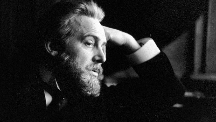 Иннокентий Смоктуновский в роли Чайковского на съемках кинофильма «Чайковский», 1969 год