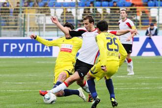 Одил Ахмедов забил свой первый мяч в чемпионате