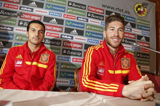 Игроки сборной Испании находятся в хорошем расположении духа