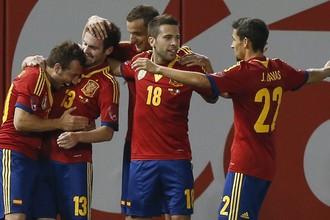 Испания непобедима и в товарищеских матчах