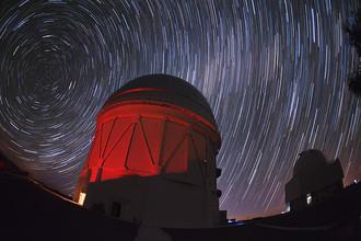 Телескоп имени Виктора Бланко в Чили на котором реализуется проект Dark Energy Survey
