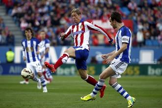 Фернандо Торрес помог «Атлетико» одержать победу в Примере
