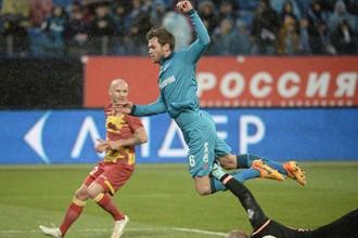 «Зенит» обыграл тульский «Арсенал» в Петербурге
