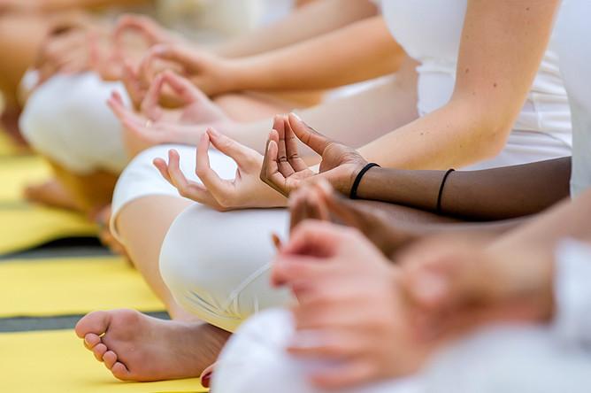 Международный день йоги в Париже