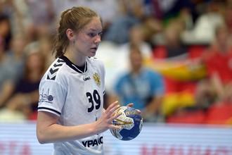 Игрок сборной России Антонина Скоробогатченко