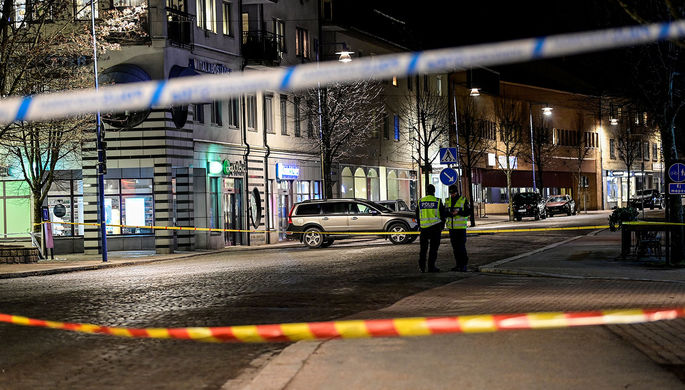 «Ужасные события»: мужчина напал на прохожих в Швеции