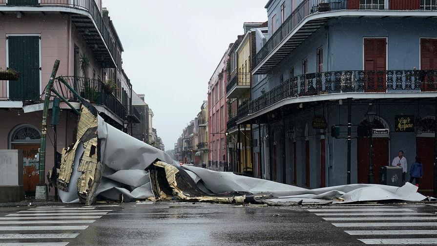 В США семья утонула в собственной квартире после урагана Ида