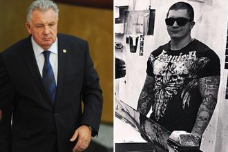 Экс-губернатор Хабаровского края Виктор Ишаев и его внук Игорь Ишаев