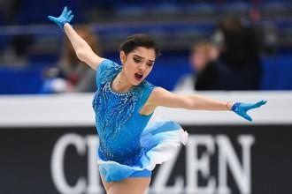Чемпионка мира по фигурному катанию Евгения Медведева