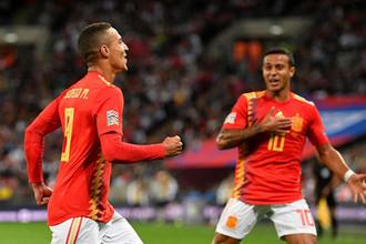 Родриго и Тьяго Алькантара в составе сборной Испании