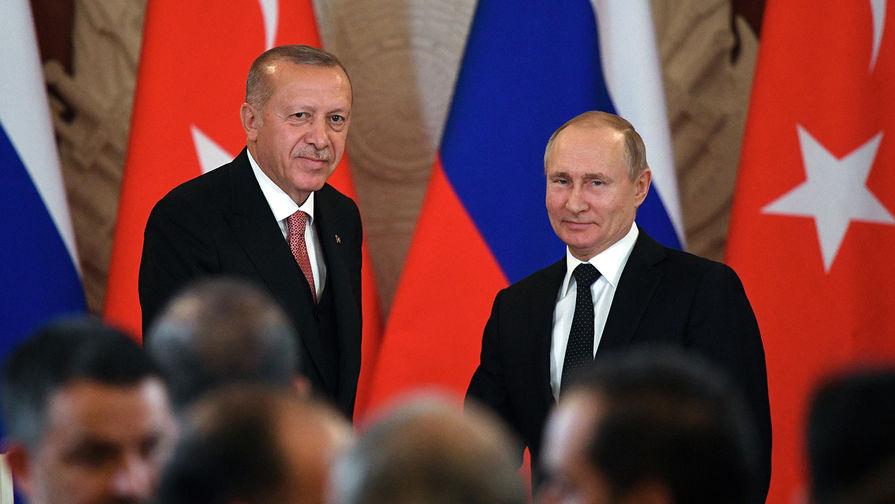 «Много слухов»: Эрдоган о позиции России по военной операции турков