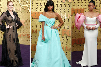 Жуткие принцессы: кто разочаровал на премии «Эмми»