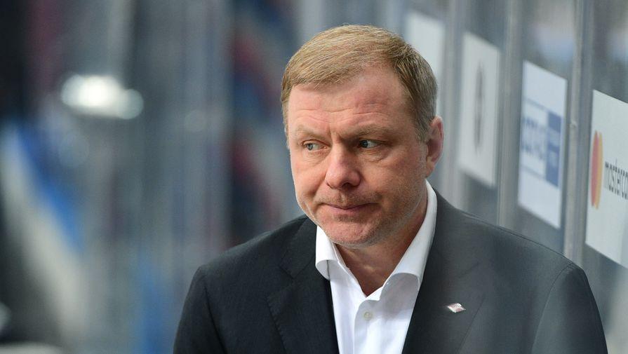 Жамнов назначен главным тренером сборной России по хоккею