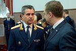 Владимир Маркин передначалом расширенного заседания коллегии Следственного комитета РФ