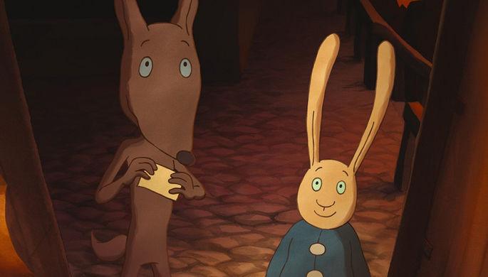 Кадр из мультфильма «Невероятная тайна Лулу»